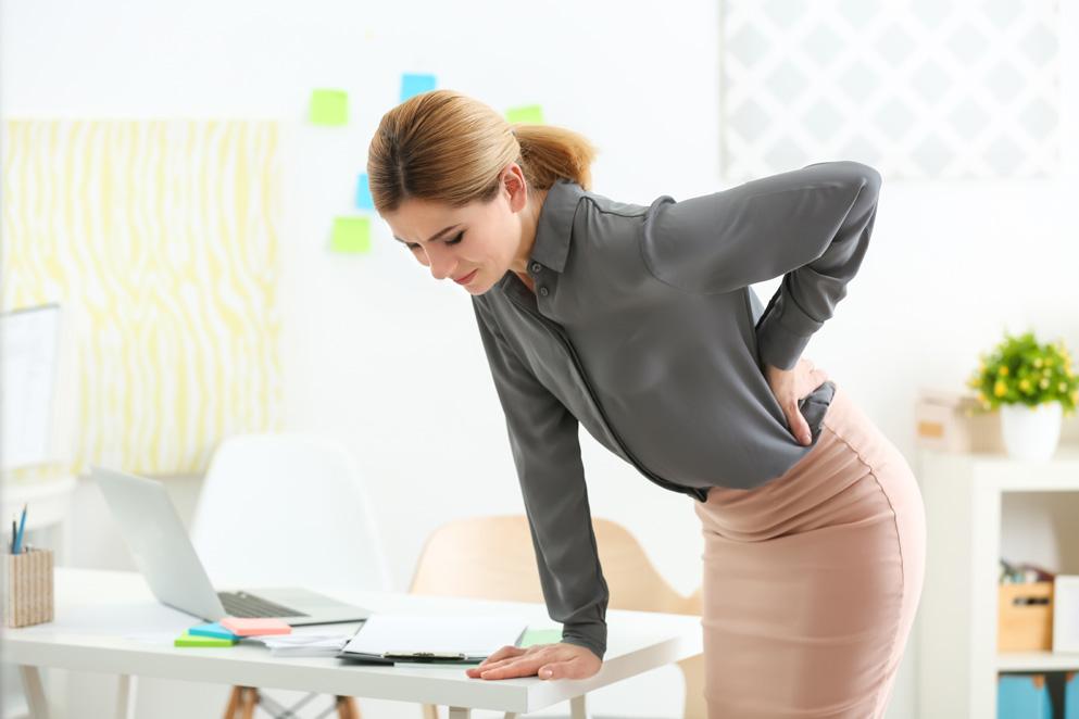 Болевой синдром конского хвоста в области спины у человека